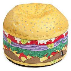Pouf Mini-Burger petite taille