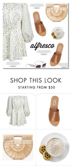 """Alfresco Dining"" by paculi ❤ liked on Polyvore featuring Lovers + Friends, Steve Madden, Cult Gaia, Mr. Coffee and alfrescodining"