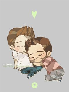 """""""They wanted mpreg!sterek with cuddling and i'm so sorry for taking so long ;u; thanks for commissioning me!"""""""