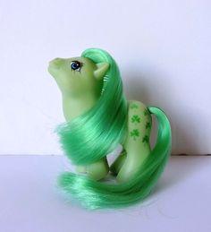 Vintage G1 My Little Pony Greek Baby Minty MLP by el Greco