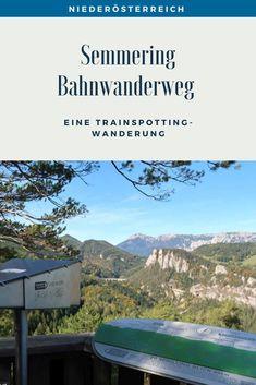 Eine Trainspotting Wanderung auf 21 Kilometern rund um Viadukte, pfeifende Züge und herrlichen Ausblicken. Streckenbeschreibung und Tipps für den Bahnwanderweg zwischen Semmering und Payerbach. #SemmeringWandern #ÖsterreichSchönsteOrte #ÖsterreichUrlaub #ÖsterreichWandern #ÖsterreichUrlaubSommer #NiederösterreichAusflug #Niederösterreich #ÖsterreichAusflugsziele #AusflügeÖsterreich #AusflugszieleinÖsterreich #Semmeringwandern #Semmeringbahn #WanderninNiederösterreich #WandertippsÖsterreich Bahn, London, Europe, Day Trips, Road Trip Destinations, Beautiful Places, Round Round, London England