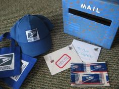 post office pretend play ideas for kids--how could I make this work for the nativity?