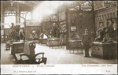 Musée du Congo, Tervuren : Ethnographic room, 1898.