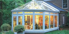 Conservatory Wood Glass Roof System