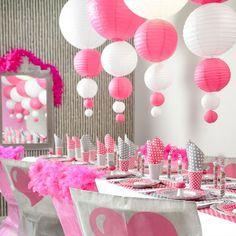 Lampions in diversen Farben für die Raumdeko Ihrer Hochzeit
