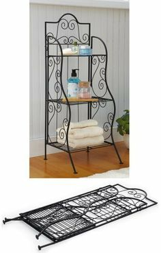 3-Tier Metal Scrollwork Bathroom Storage Shelf By Collections Etc by Mallory Lane, http://www.amazon.com/dp/B00BI0IPSU/ref=cm_sw_r_pi_dp_U2Orrb0D5E5FR