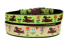 Bunny Dog Collars! by Wagologie