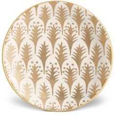 L'Objet Fortuny Piumette Canape Plates (Set of 4) (470 TND) ❤ liked on Polyvore featuring home, kitchen & dining and serveware