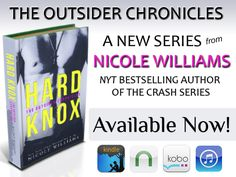 Nicole Williams is offering a Release Grand Prize! Visit her Facebook page to enter to win (1) Signed copy of HARD KNOX and (1) $50 USD Amazon Gift Card – International