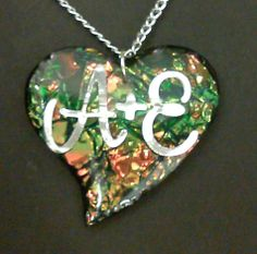 Pretty A+E Necklace