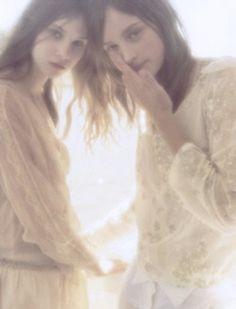 La Edad De La Inocencia shot by Juan Gatti for Vogue Spain March 2005.
