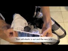 """Easily replace old elastic in that """"well loved"""" BumGenius cloth diaper with this tutorial: Easy 5 Min Cloth Diaper Elastic Repair Trick. Sewing For Kids, Baby Sewing, Mama Cloth, Menstrual Pads, Cloth Nappies, Multiplication For Kids, Easy 5, Better Love, Learn To Sew"""