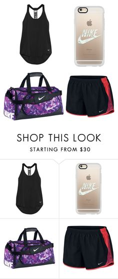 """""""Nike workout"""" by sadie-loehr on Polyvore featuring NIKE and Casetify"""