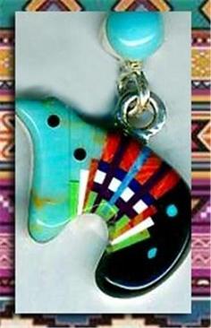 Southwest Turquoise Zuni Bear Post Earrings Gemstone Inlay Sterling Red Jasper   eBay