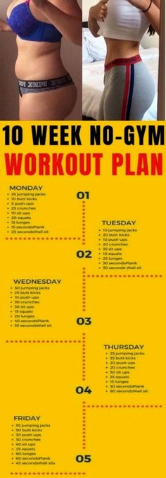 workout plan to lose weight at home - workout plan . workout plan for beginners . workout plan to get thick . workout plan to lose weight at home . workout plan for women . workout plan for beginners out of shape . workout plan at home 10 Week No Gym Workout, At Home Workout Plan, Workout Ideas, Workout Guide, Weekly Exercise Plan, Exercise At Home, Workout Routines, Home Exercise Plan, Daily Workout At Home