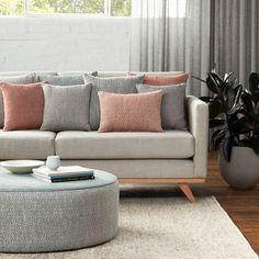 Warwick Fabrics: KIKO Upholstery, Upholstery Fabric, Textiles, Fabric Sofa Colors, Colours, Rose Gold Wallpaper, Warwick Fabrics, Window Seat Cushions, Lounge Suites, Sofa Upholstery, Dream Decor, Sofa Furniture
