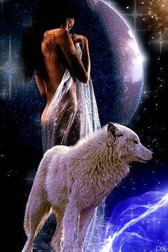 Discover recipes, home ideas, style inspiration and other ideas to try. Native American Spirituality, Female Demons, Scary Wallpaper, Wolves And Women, Fantasy Wolf, Wolf Love, Wolf Girl, Dark Photography, Fantasy Artwork