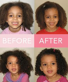 Natural Hair Products for Curly Kids