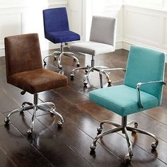 Tufted Desk Chair, Pool | Tufted desk chair, Desks and Office spaces
