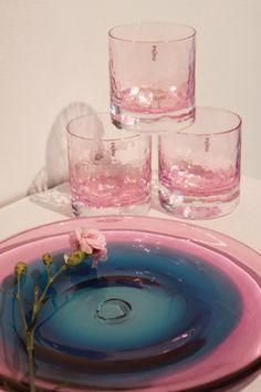Winter glasses & glass plate by Mafka.