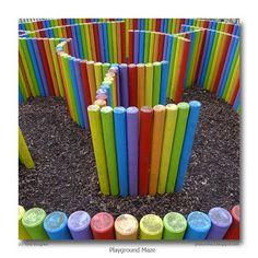 Fantastic maze for the kids!