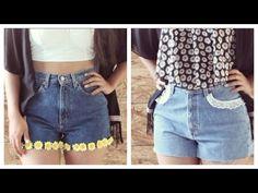 Shorts con Encaje DIY | Arwen - YouTube