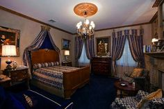 Magic City, Bedroom, Interior, House, Furniture, Home Decor, Decoration Home, Indoor, Home