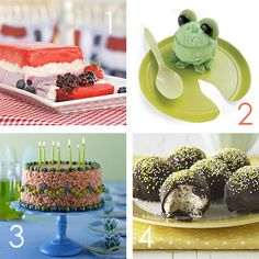 #CookingWithKids: #No-Bake #Desserts your kids will love to help with.