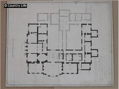 clandeboye house a plan for clandeboye house. not used cl drawing, plan, sketch, floor plan English Architecture, Classical Architecture, Residential Architecture, Drawing Architecture, 2 Story Houses, Ground Floor Plan, Life Pictures, House Floor Plans, Country Life