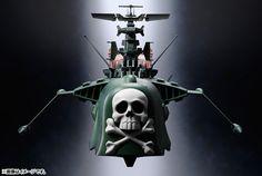 Captain Harlock's Arcadia Ship Gets the Soul of Chogokin Treatment