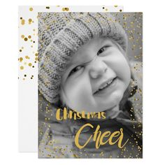 Shop Christmas Cheer Confetti Photo Holiday Greeting Invitation created by XmasMall. Holiday Greeting Cards, Christmas Cards, Christmas Eve, Custom Invitations, Invitation Cards, Confetti Photos, Merry Xmas, Envelope Liners, Personalized Gifts