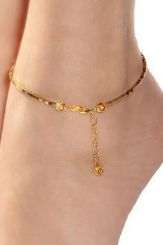 Anklet made with hematite Ankle bracelet