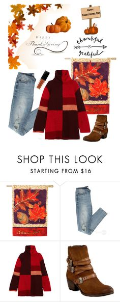 """Thanksgiving Fashion"" by kotnourka ❤ liked on Polyvore featuring Evergreen, Roksanda and Miz Mooz"