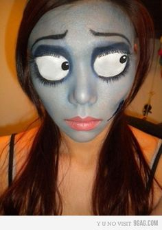 Amazing makeup - The Corpse Bride