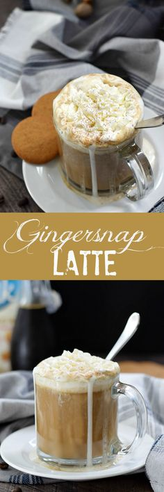 This Gingersnap Latte has all of the creamy and delicious flavor that you love, but none of the dairy | cookingwithcurls.com #SameSilkySmoothTaste #ad @walmart @lovemysilk/