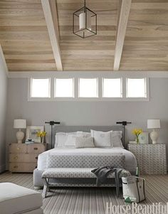 *Master Bedroom benjamin moore gray owl is the best gray paint colour with blue green undertones. Shown in Master bedroom. Bedroom Paint Colors, Gray Bedroom, Home Bedroom, Bedroom Decor, Master Bedroom, Blue Bedrooms, Bedroom Wall, Bedroom Windows, Peaceful Bedroom