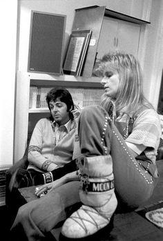 Paul McCartney and Linda Eastman-McCartney