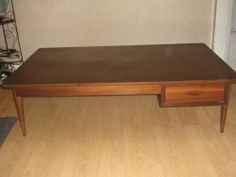 Vintage Lane Mid Century / Danish Modern Coffee Table With Drawer