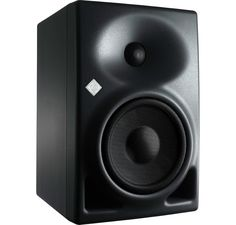 The Neumann KH 120 A studio monitor is designed for use as a near-field loudspeaker or as a rear loudspeaker in larger multi-channel systems. The KH 120 A represents the latest in acoustic and electronic simulation and measurement technologies to ensure the most accurate sound reproduction possible.