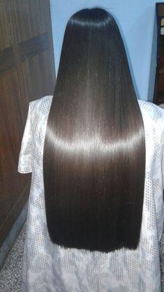 Straight Black Hair, Long Black Hair, Haircuts For Long Hair, Straight Hairstyles, Shiney Hair, One Length Hair, Hair Romance, Beautiful Hair Color, Super Long Hair