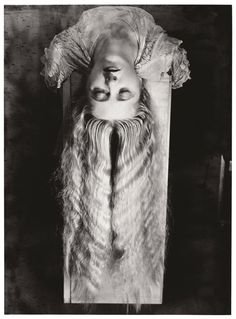 Man Ray, Woman with Long Hair.