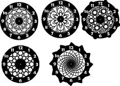 DXF CDR AND EPS File For CNC Plasma or Laser Cut - Mandala Clock lot - $7.00. DXF CDR and EPS File For CNC Plasma or Laser Cut - Mandala Clock lot You buy the files for six originals fine clock models. Those are .dxf .eps and .cdr files File Only!!!! Excellent for CNC plasma cutting, laser, water jet, router, or engraving. Your item will be sent via mail shortly after payment is confirmed. 232392766728 Vinyl Record Crafts, Vinyl Record Clock, Cnc Plasma, Plasma Cutting, Wooden Calendar, Laser Cut Stencils, Laser Cut Metal, Diy Cutting Board, Wall Clock Design