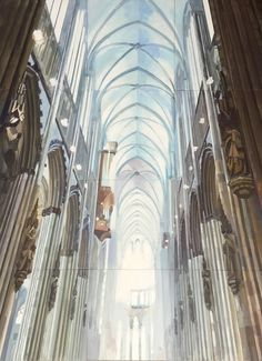 Anna Chulkova   COLOGNE DOME I (2016)   Available for Sale   Artsy Affordable Art Fair, Gothic Architecture, Cologne, Cathedral, Anna, Artsy, Gallery, Wood, Artwork