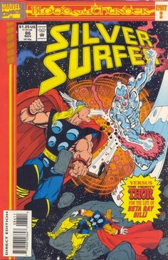 Silver Surfer Vol. 3 # 86 by Ron Lim & Keith Aiken