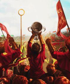 Gryffindor Wins!