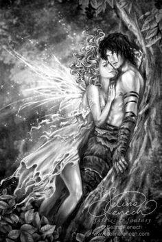 Confesions of a cover artist – selina fenech beautiful fairies, faeries, fantasy love, Fantasy Love, Fantasy World, Magical Creatures, Fantasy Creatures, Illustration Fantasy, Art Steampunk, Fantasy Couples, Love Fairy, Beautiful Fairies