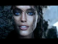 The Cinematic Orchestra - Arrival of the birds | The face is that of model Emily Didonato.