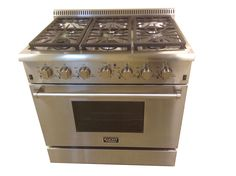"KUCHT 36"" with 6 burners, convection oven"