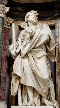 James 'the Less' by Angelo de' Rossi (1705-11) in the Archbasilica of St. John Lateran