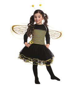 This Bumblebee Dress-Up Set - Toddler & Kids by Dress Up America